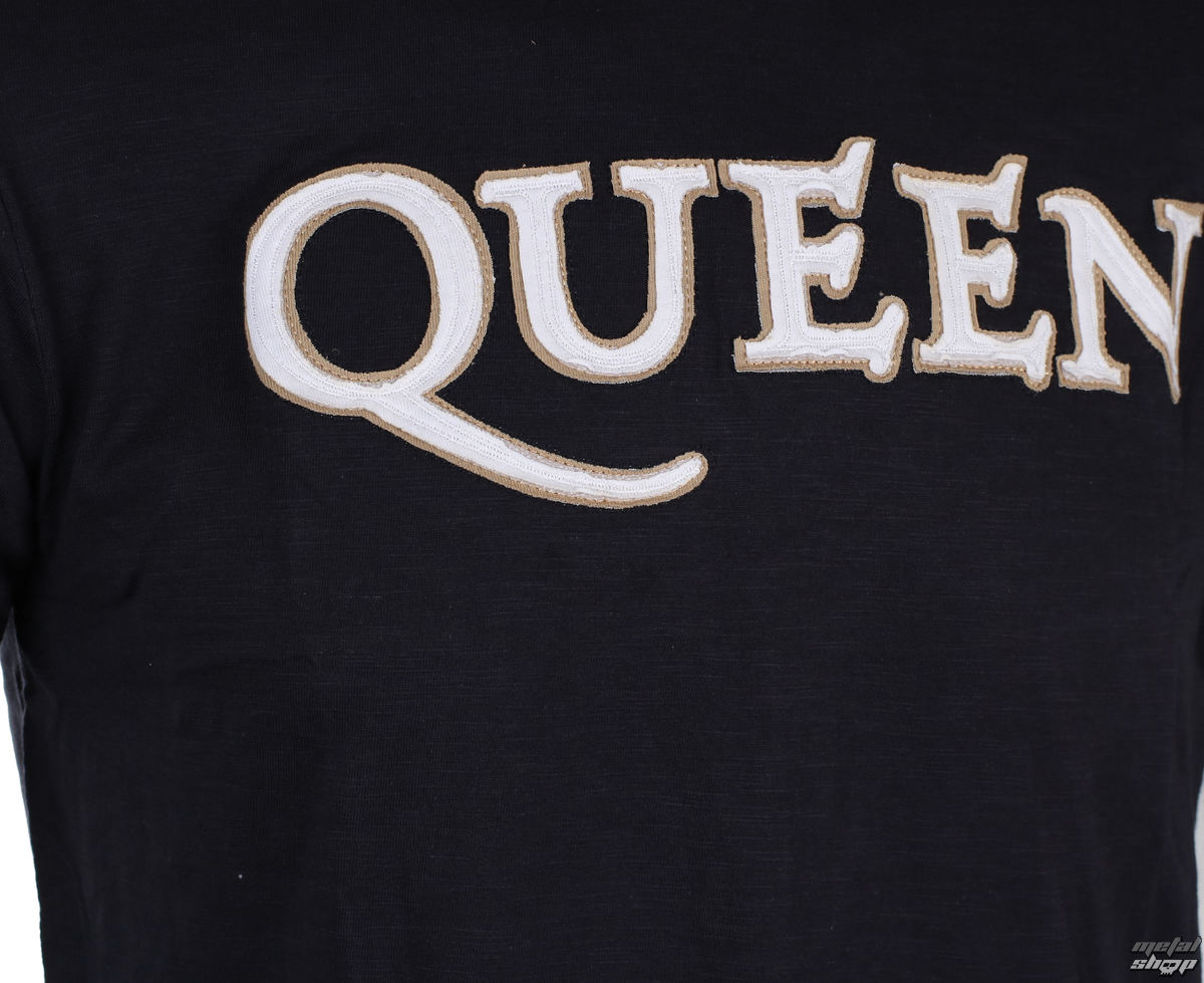 tričko pánské Queen Logo & Crest ROCK OFF