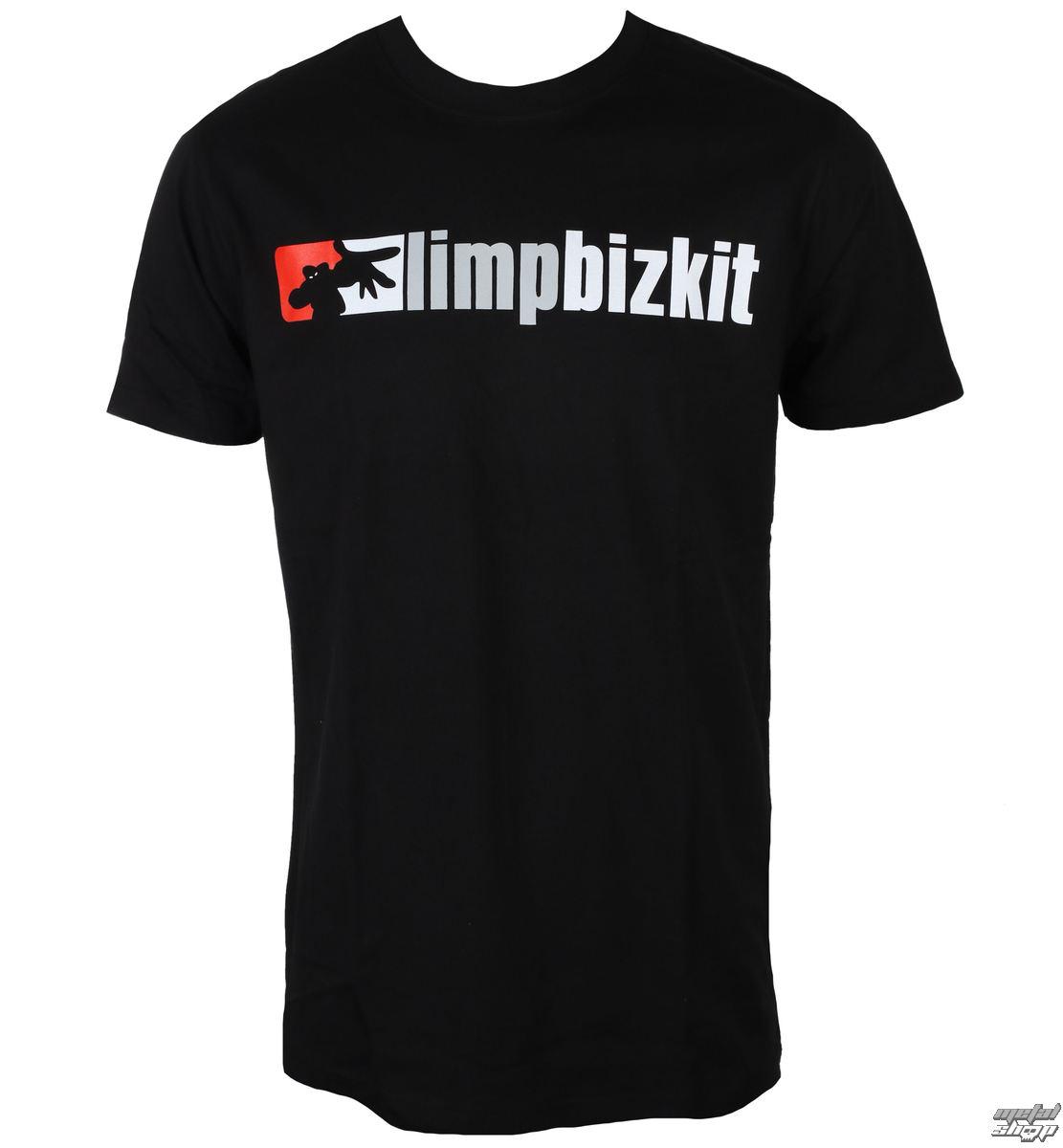 metál póló férfi Limp Bizkit Logo NNM