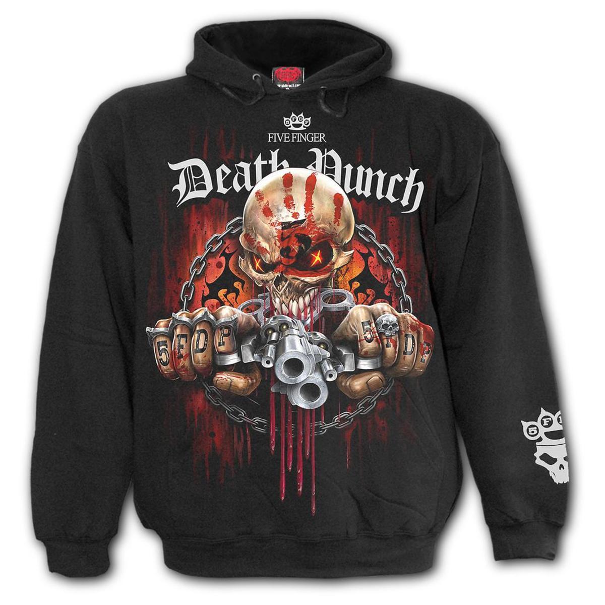 e6707313285e kapucnis pulóver férfi Five Finger Death Punch - Five Finger Death Punch -  SPIRAL