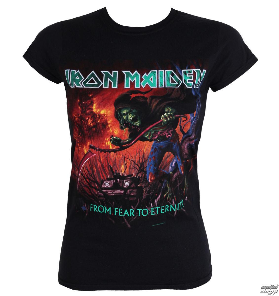metál póló női Iron Maiden - - ROCK OFF - IMTEE20LB - Metalshop.hu 955f393e5e