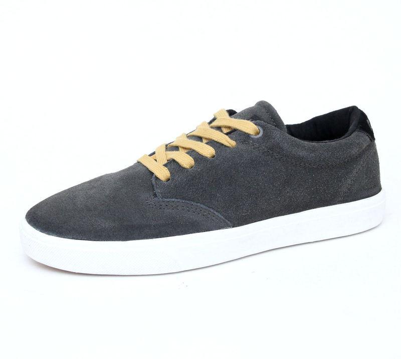rövidszárú cipő férfi - GLOBE - GREY-BLACK-MUSTARD - Metalshop.hu 9f69a0200c