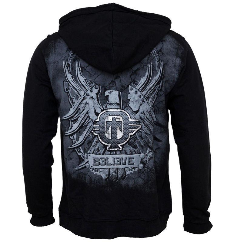 kapucnis pulóver férfi Fierce TAPOUT 38112 Metalshop.hu