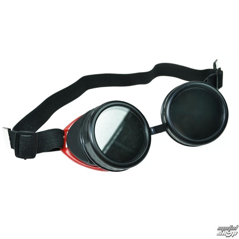 cyber szemüveg POIZEN INDUSTRIES - Googgle CG2 - Red - Metalshop.hu 8a5a6a39dd