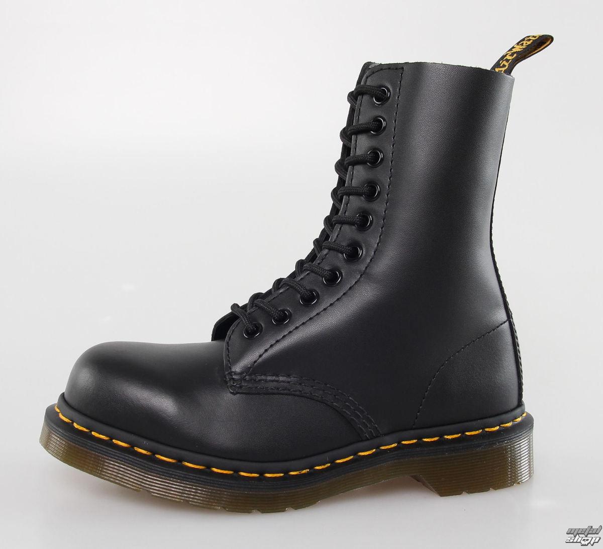 c83f457d57 DR. MARTENS cipő - 10 lyukú - 1919 - BLACK FINE Haircell - Metalshop.hu