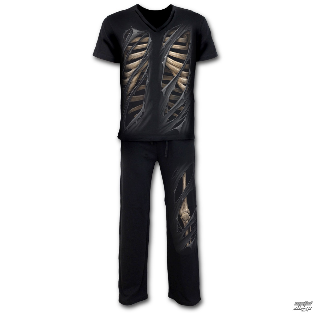 SPIRAL férfi pizsama szett - Bone Rips - K033M631 - Metalshop.hu e489275857