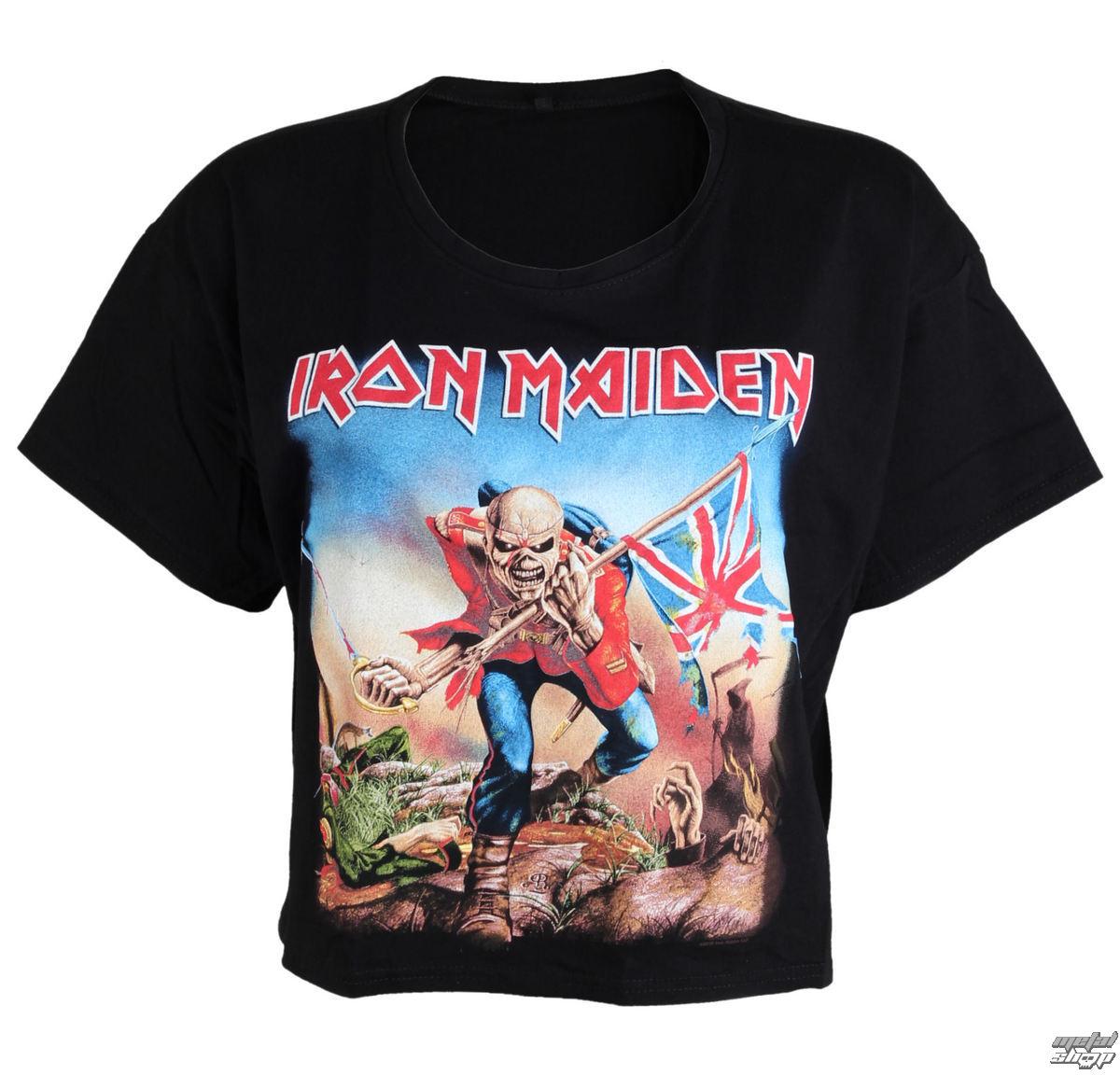 metál póló női Iron Maiden - Trooper - ROCK OFF - IMPBT01LB ... 3bf4c87db6