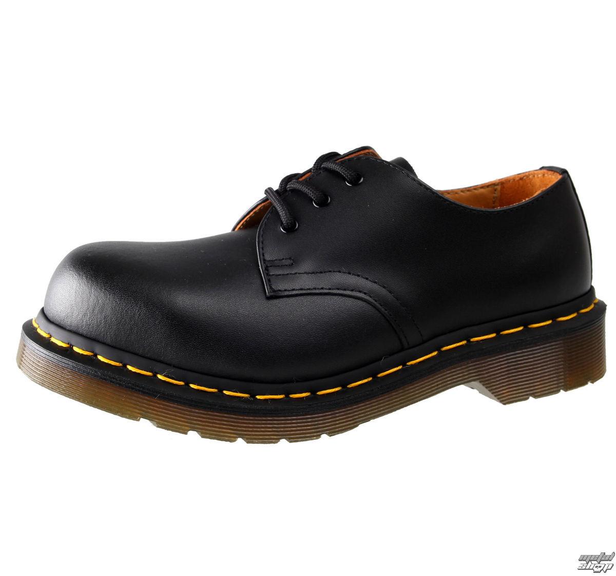 1773705746 Dr. Martens cipő - 3 lyukú - 5400 Black Fine - 1925 - Metalshop.hu
