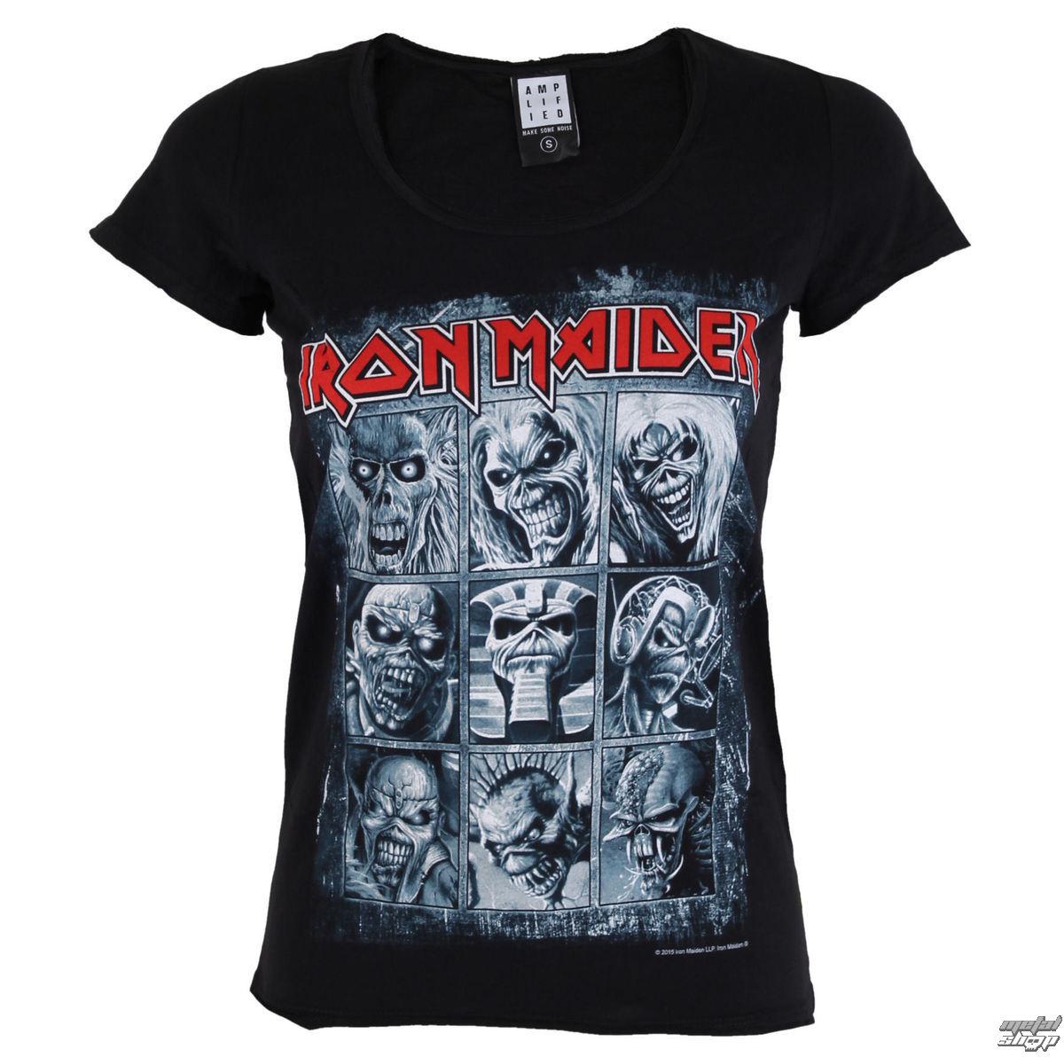 metál póló női Iron Maiden - EDDIES - AMPLIFIED - AV6019ED ... fbc1920632