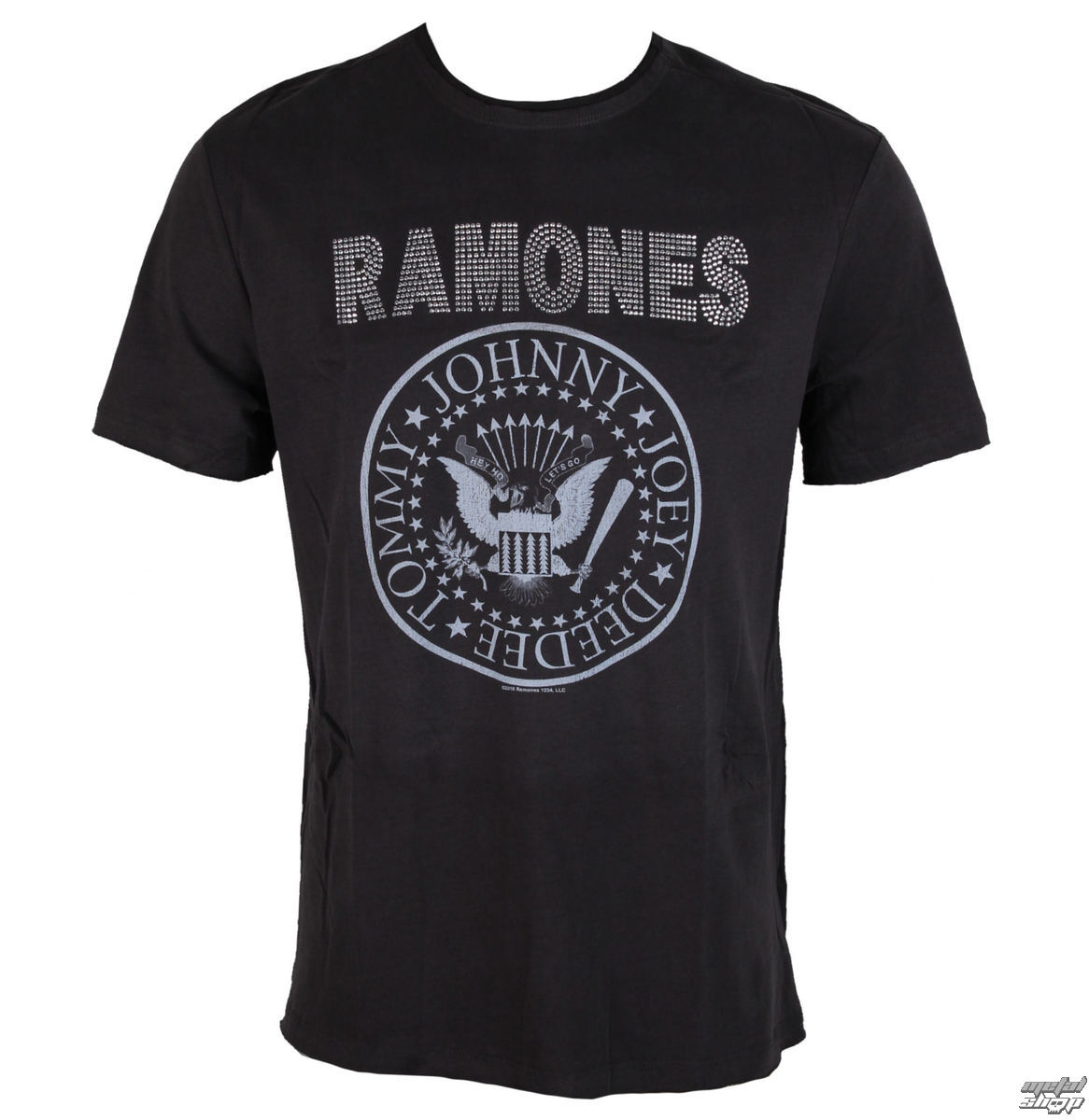 metál póló férfi Ramones - LOGO - AMPLIFIED - AV210RLS - Metalshop.hu 6ad6c70aaf