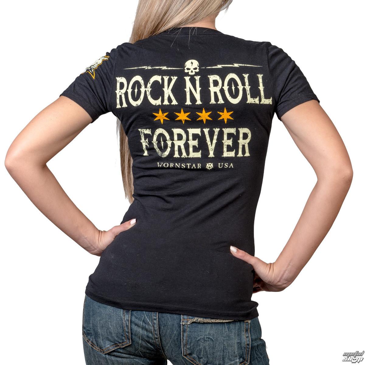 b99a100ebf tričko dámské WORNSTAR - Rock N Roll Forever - WSUSL-RNR4VR ...