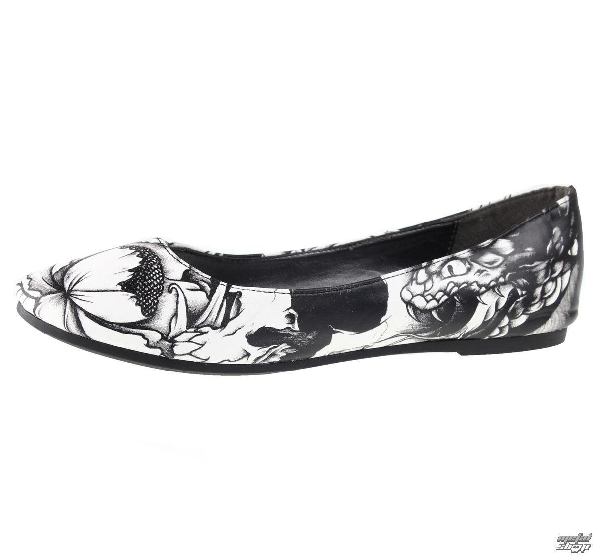 metal shop női balerina cipő