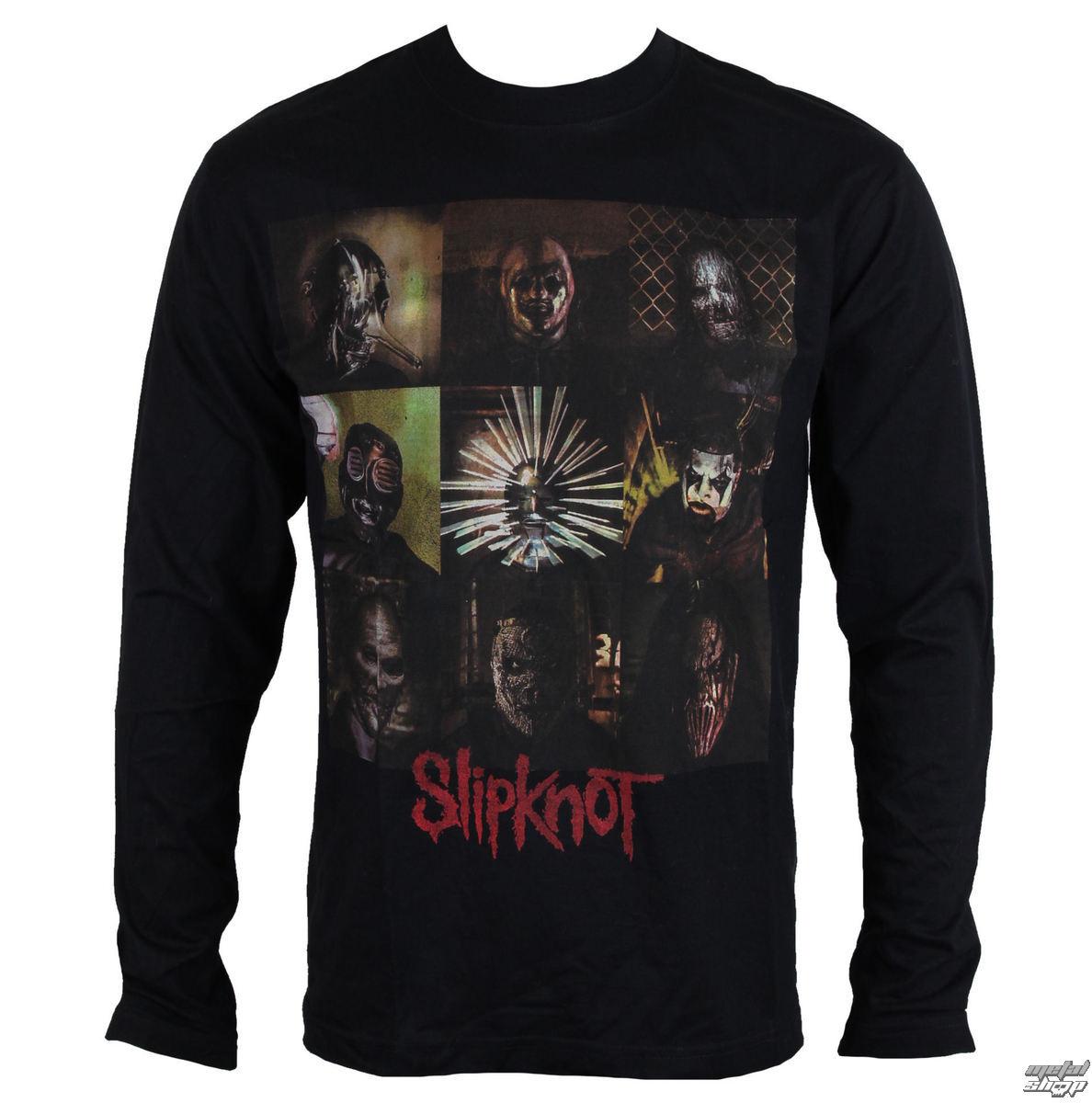124d073507c tričko pánské s dlouhým rukávem Slipknot - Blocks - ROCK OFF ...