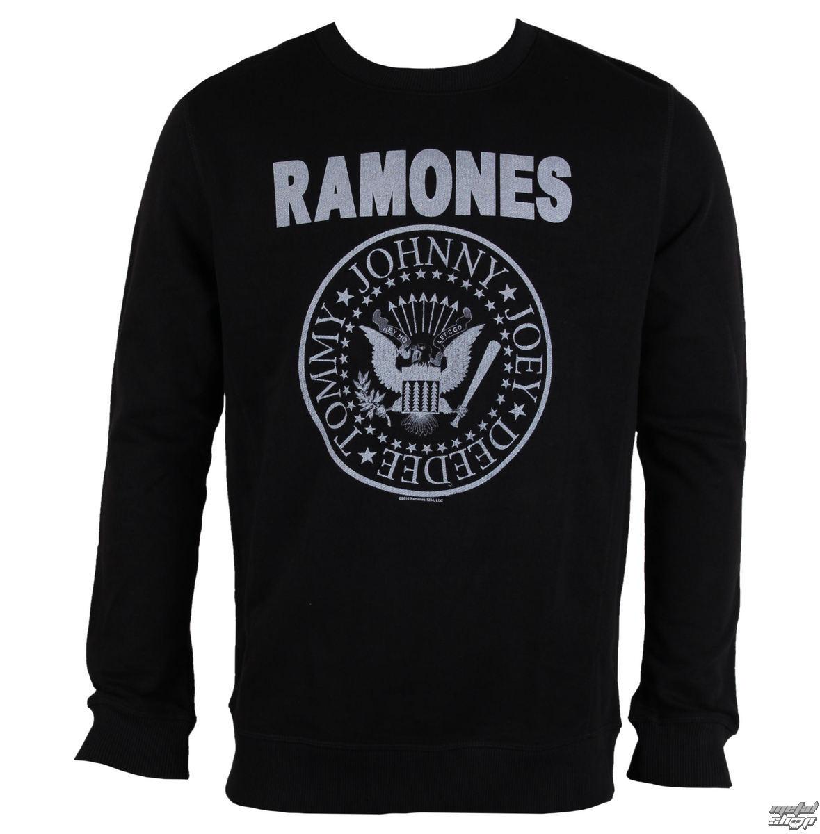 pulóver (kapucni nélkül) férfi Ramones - LOGO - AMPLIFIED - AV420RAM ... 781613852e