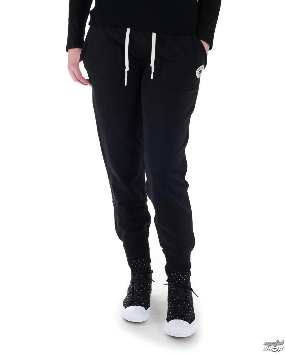 Fekete női melegítő nadrág Converse Core Signature Pant