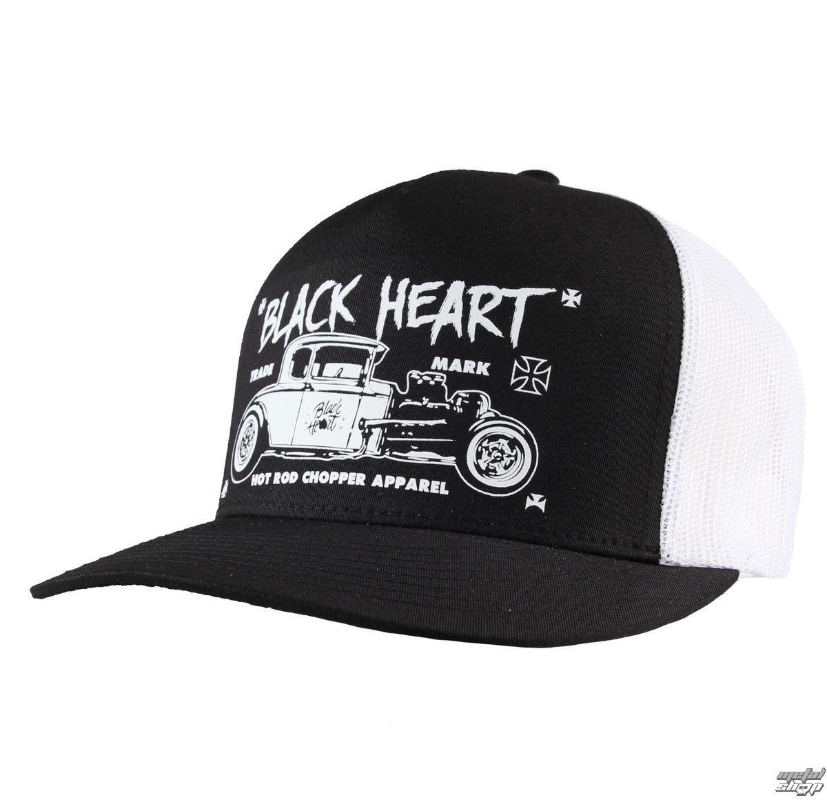 BLACK HEART baseball sapka - HOT ROD CROSS - FEHÉR - BH169 ... 2a019caa67