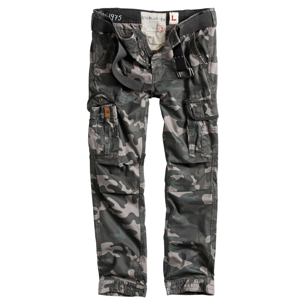 SURPLUS férfi nadrág - PREMIUM SLIMMY - FEKETE CAMO - 05-3602-42 -  Metalshop.hu 7252241acd