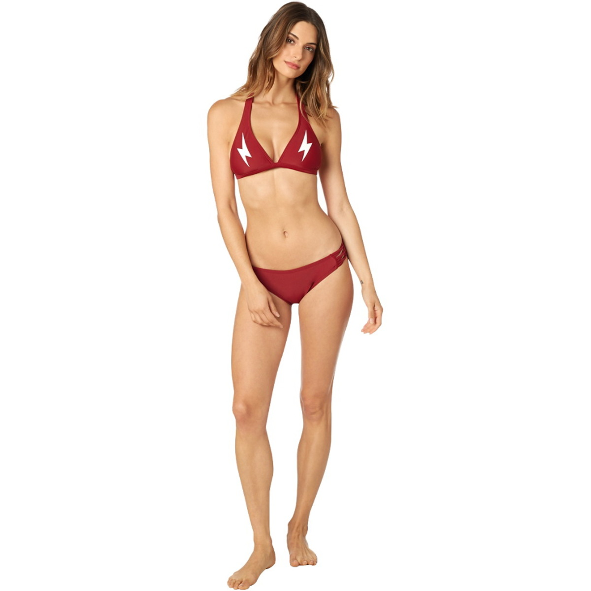 FOX Női Bikini - Throttle Maniac - Kötőfék - Sötét Piros - 21074-208 ... 308fae7067