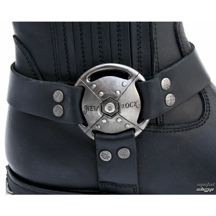 bakancs NEW ROCK - 7605-S1 - Itali Negro