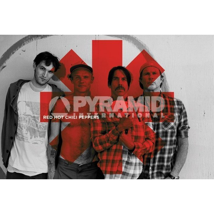 poszter Red Hot Chili Peppers - Red Asterix - PYRAMID POSTERS