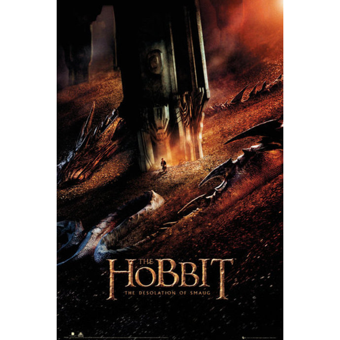 poszter The The Hobbit - Pusztaság of Smaug Dragon - GB posters