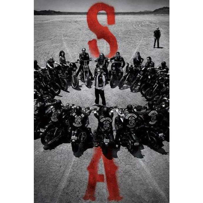 poszter Sons Of Anarchy - Circle - PYRAMID POSTERS