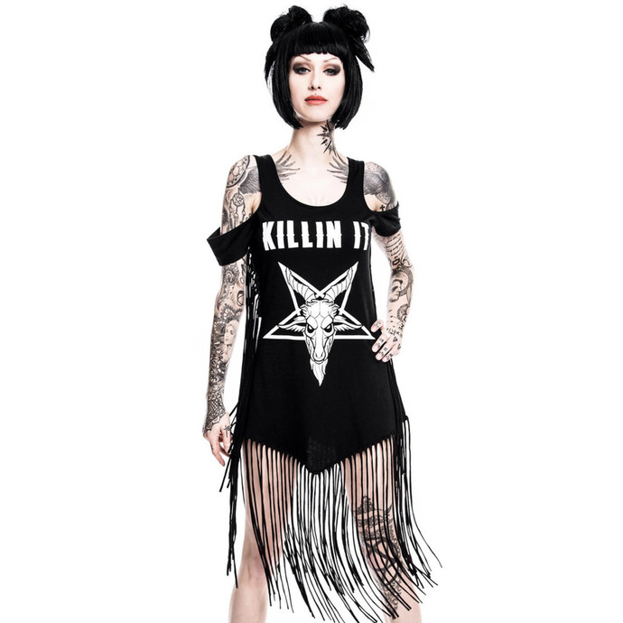KILLSTAR női ruha - Killin' It Fringe