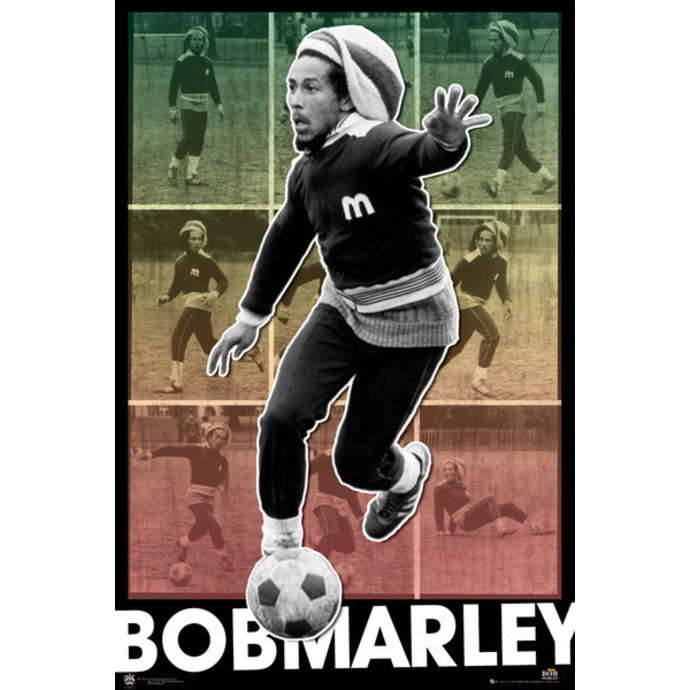 Bob Marley poszter - Football S.O.S. - GB Posters