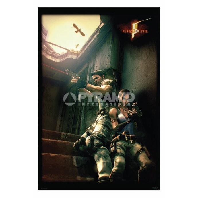 poszter Resident Evil 5 (Against A Wall) - PP31862