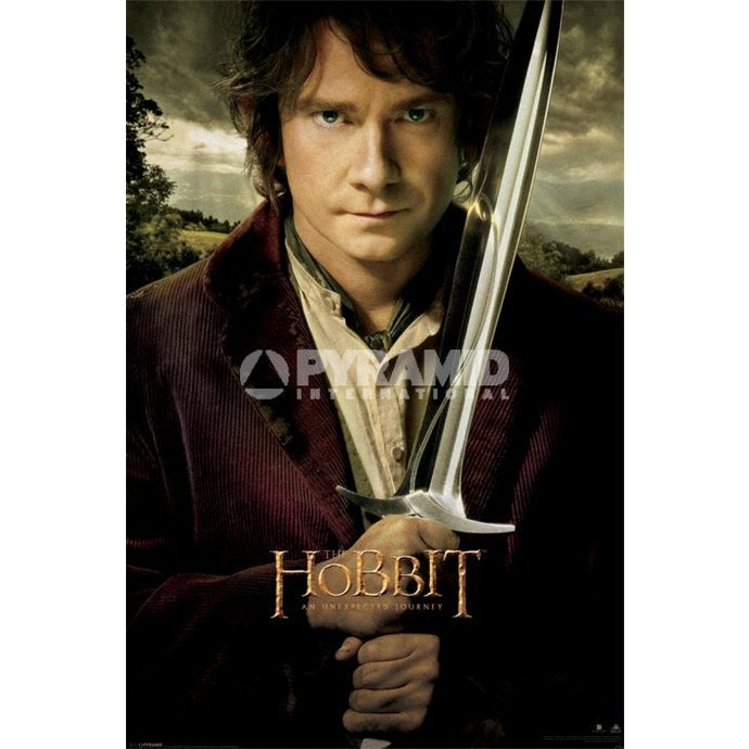 poszter The The Hobbit - Bilbo - Pyramid Posters