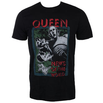 metál póló férfi Queen - News of the World - ROCK OFF, ROCK OFF, Queen