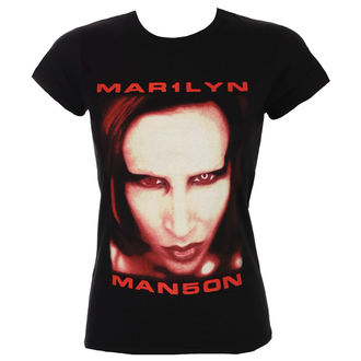 metál póló női Marilyn Manson - Bigger Than Satan - ROCK OFF, ROCK OFF, Marilyn Manson