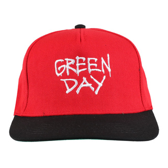 Sapka GREEN DAY - RADIO HAT - PLASTIC HEAD, PLASTIC HEAD, Green Day