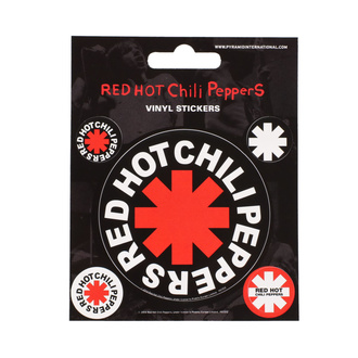 RED HOT CHILI PEPPER Matricák- PYRAMID POSTERS, PYRAMID POSTERS, Red Hot Chili Peppers