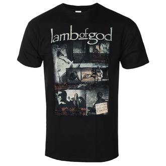 Férfi póló Lamb Of God - Album Collage - ROCK OFF, ROCK OFF, Lamb of God