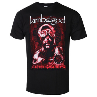 Férfi póló Lamb Of God - Gas Mask Waves - ROCK OFF, ROCK OFF, Lamb of God