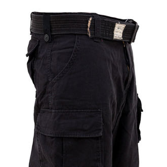 rövidnadrág SURPLUS - DIVISION SHORT - BLACK - 07-5598-63