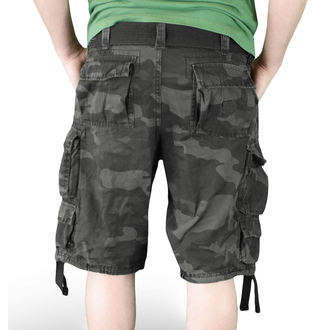rövidnadrág SURPLUS - DIVISION SHORT - NIGHT CAMO - 05-5598-42