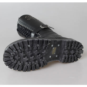 cipő STEEL - 20 lyukú Rivets Black