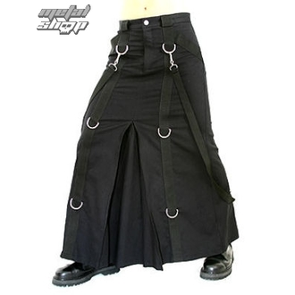 skót szoknya ADERLASS - Chain Skirt Denim Black, ADERLASS