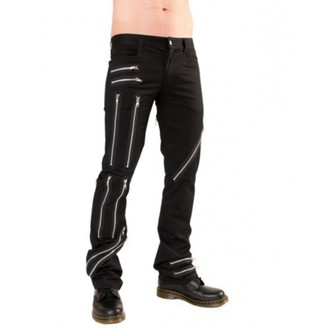 nadrág férfi Black Pistol - Zipper Pants Denim Black - B-1-25-001-00