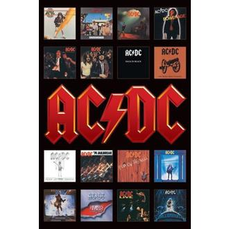 poszter - AC / DC (Album Covers) - PP30748 - Pyramid Posters