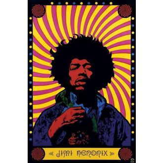 poszter Jimi Hendrix (Psychedelic) - PP30356 - Pyramid Posters