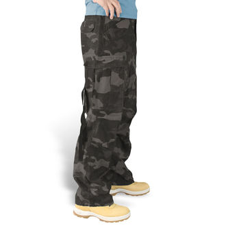 nadrág SURPLUS - Vintage - BLACK CAMO - 05-3596-42