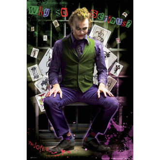 poszter - Batman (Dark Knight) - Joker Jail - FP2100 - GB posters