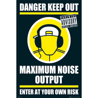 poszter - DANGER KEEP OUT II - GN0139 - GB posters