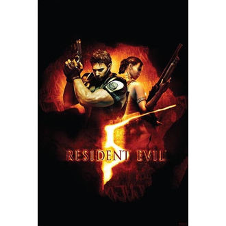 poszter Resident Evil 5 (BOX ART) - PP31863 - PYRAMID POSTERS