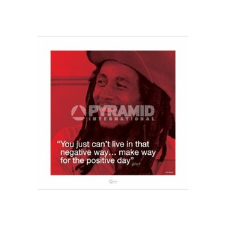Bob Marley poszter (I.Quote - Positive Day) - Pyramid Posters, PYRAMID POSTERS, Bob Marley