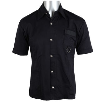 ing férfi ADERLASS - Ring Shirt Denim Black, ADERLASS