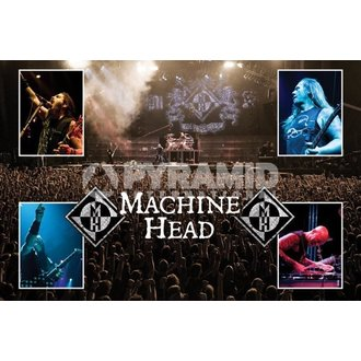 poszter Machina Head (Live) - PYRAMID POSTERS - PP32143