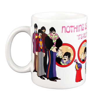 bögre Beatles - Yellow Sub Nothing is Real Boxed Mug - ROCK OFF
